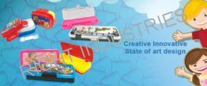 Plastic Pencil Box Manufacturer,Wholesale Daman Mumbai India