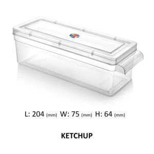 Ketchup Plastic Container