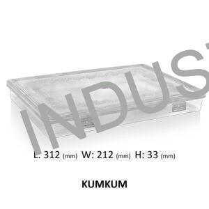 Kumkum Plastic Container